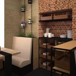 Studio di architettura Archis - Commerciale - Bistrot - 9